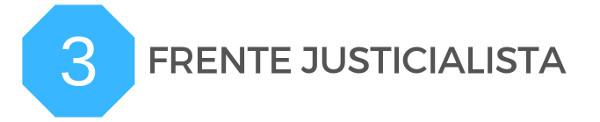 3 bancas renueva Frente Justicialista